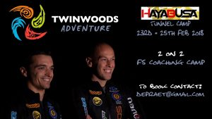 Hayabusa Tunnel Camp - Dennis and Bob - Twinwoods Adventure