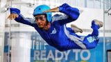 Lewis Hamilton Indoor Skydiving