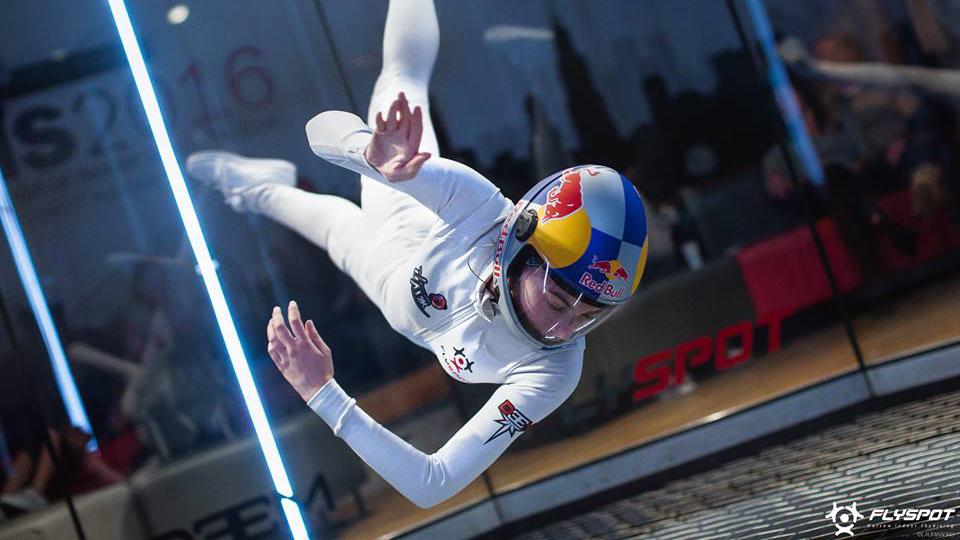 Red Bull: Maja Kuczynska, first Indoor Skydiving Athlete
