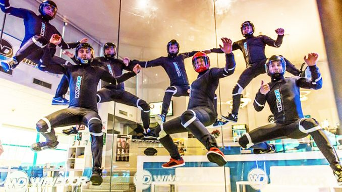 Indoor Skydiving Flyers