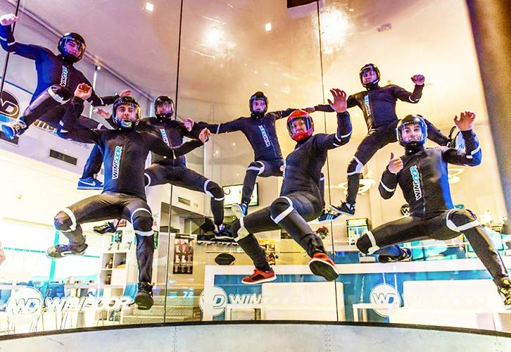 Indoor Skydiving Flyers