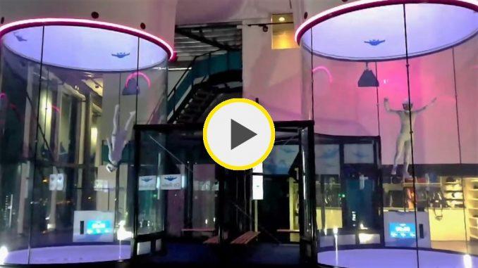City Skydive - Inka & Amalie