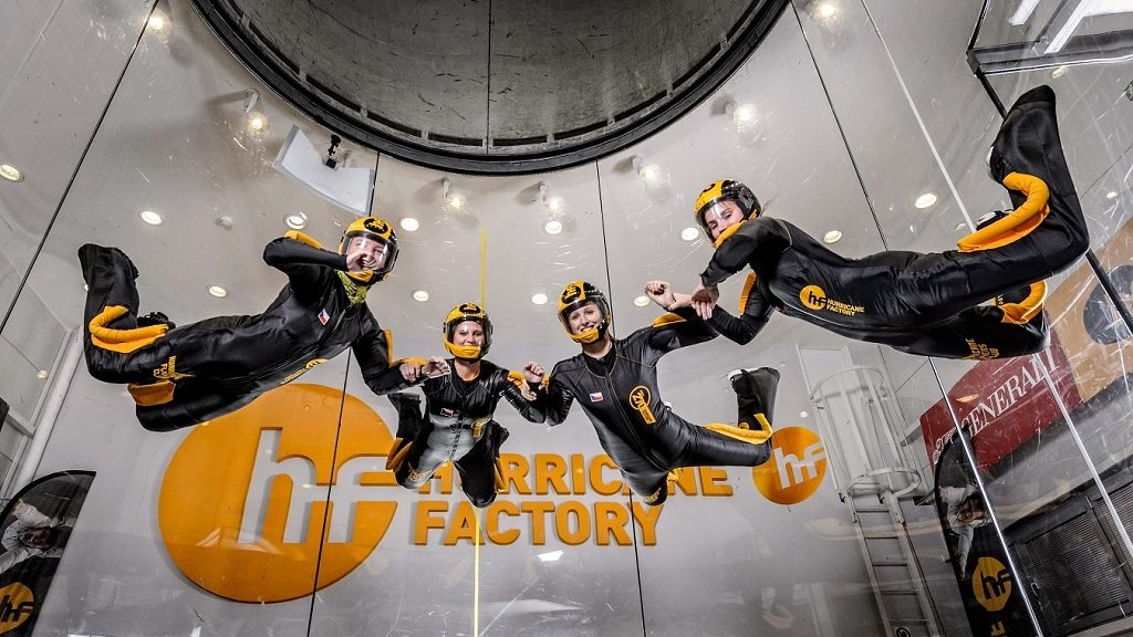 Hurricane Factory Indoor Skydiivng