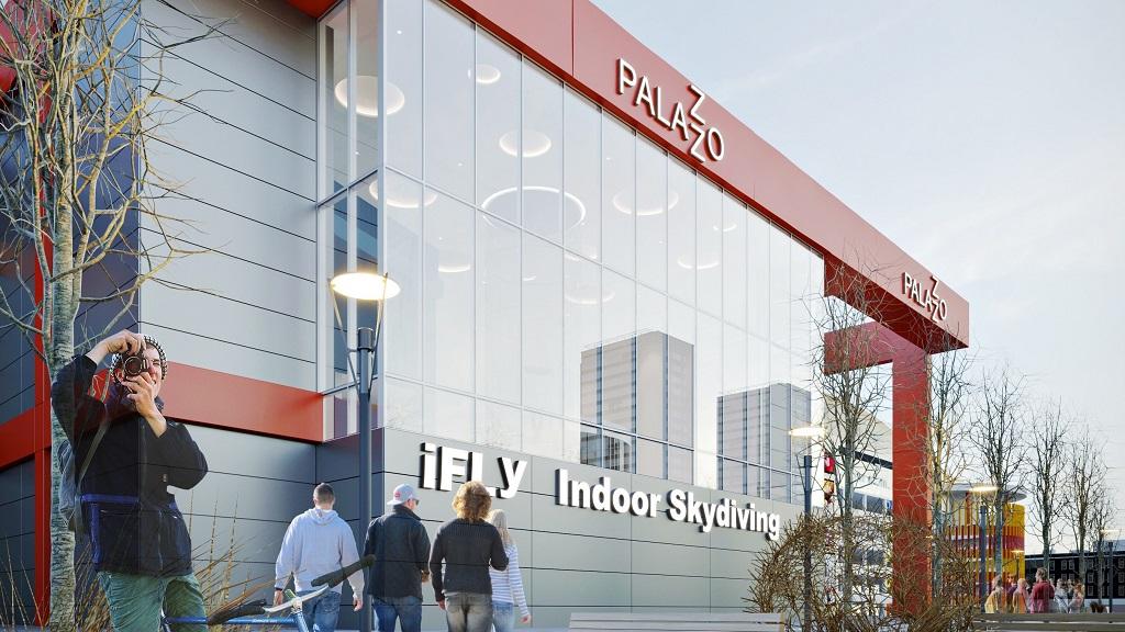 iFLY Minsk – Render Building