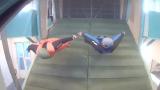 Indoor Wingsuit Flying - Stefano's experience (Video)