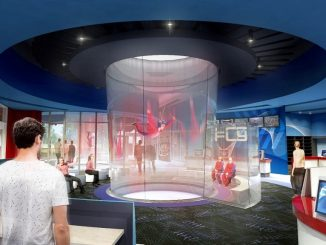 iFLY Indoor Skydiving Render