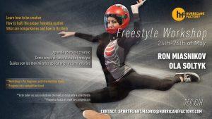 Freestyle Workshop Madrid