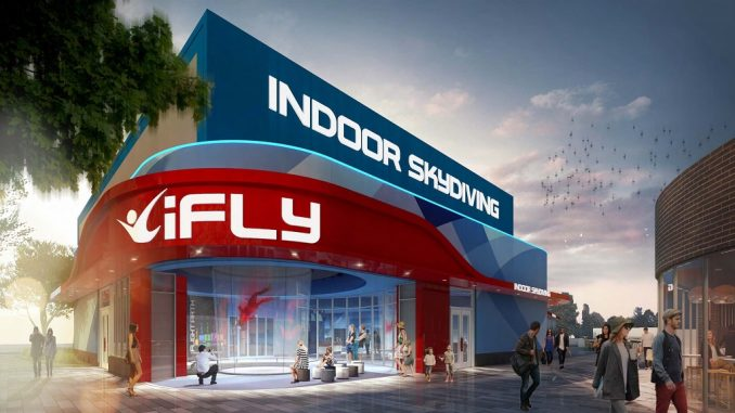 Ifly indoor skydiving mn