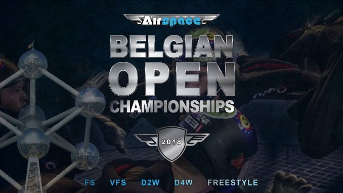 Belgian Indoor Skydiving Championship 2018