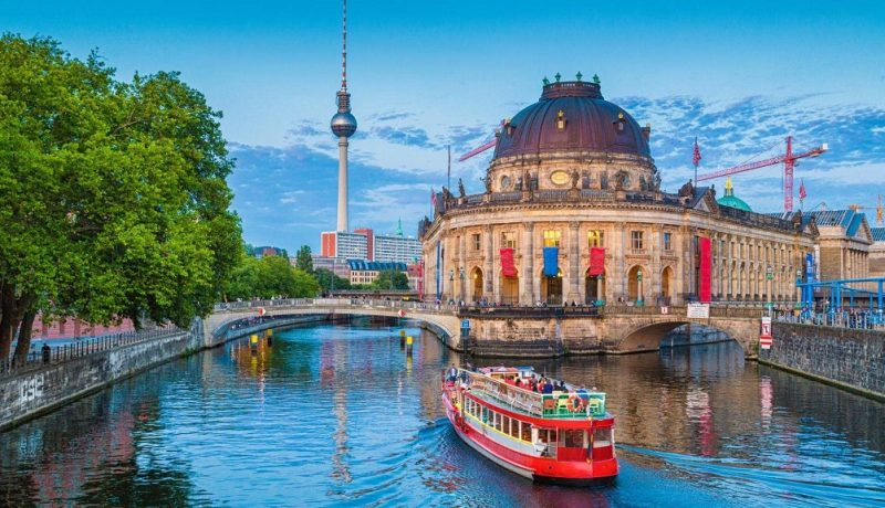 Boat trip on the Spree river – Berlin, Germany