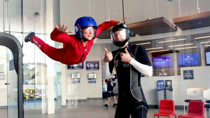 iFLY Toronto Whitby - Flying Kid