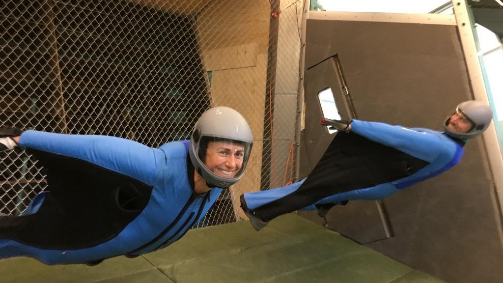 Indoor Wingsuit Sport Flyers