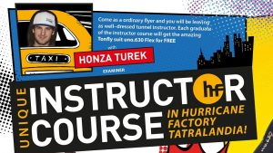 Tunnel Instructor Course - Hurricane Factory Tatralandia