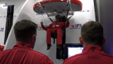 The Red Devils put ParadropVR through its paces at iFLY Basingstoke