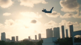 Super Flight over Miami (Video)