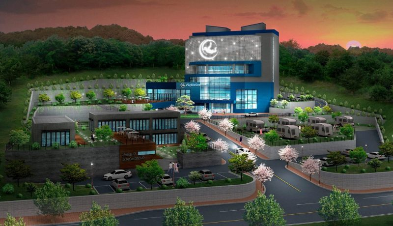 FlyStation Korea – Render