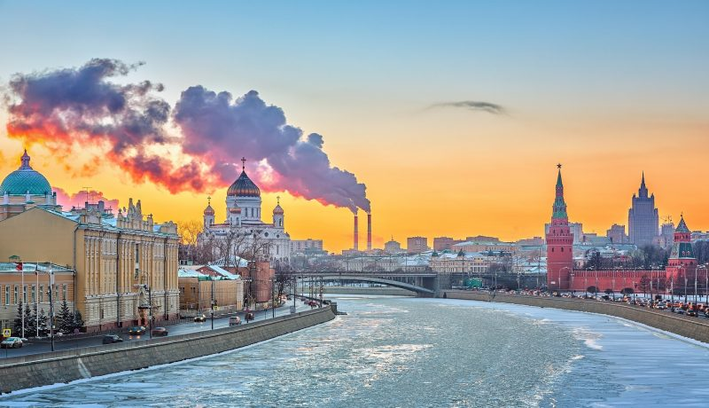 Moscow – Winter Sunset