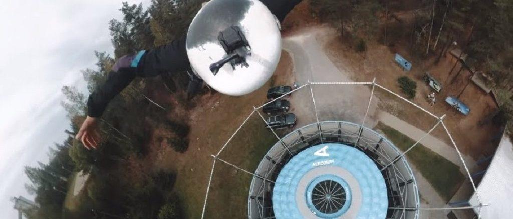 Toms Ivans Insane 360° Outdoor Wind Tunnel Flight