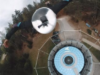 Toms Ivans Insane 360° Outdoor Wind Tunnel Flight
